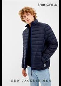 Catalogues et collections Springfield PARIS : New Jacket Men