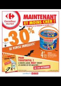 Promos et remises Carrefour Market BEAUMONT : Spécial Halloween