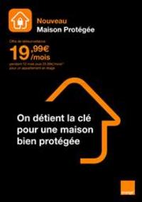 Prospectus Boutique Orange AUBIERE : Nouveau Maison Protégée
