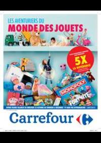Prospectus Carrefour AUDERGHEM / OUDERGHEM : Les aventuriers du monde des jouets
