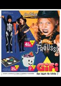 Prospectus Gifi LONGPONT SUR ORGE : Halloween 2019