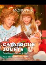 Prospectus Monoprix : Le Catalogue Jouets