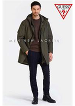 Catalogues et collections Guess : Jackets Men