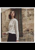 Catalogues et collections Anne Fontaine : Les Nouveautés Femme