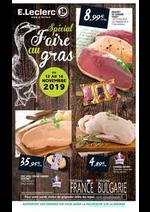 Prospectus E.Leclerc : Spécial foire au gras