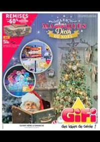 Prospectus Gifi ARMENTIERES : Magifiquess Décos de Noël