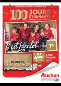 Prospectus Auchan OSNY : C'est bientôt Noël