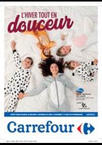 Prospectus Carrefour Drive DROGENBOS : L'hiver tout en douceur