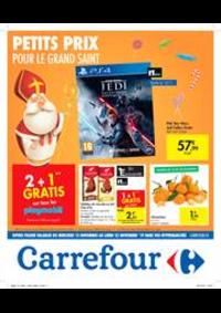 Prospectus Carrefour Express WEMMEL : Petits prix pour le grand Saint