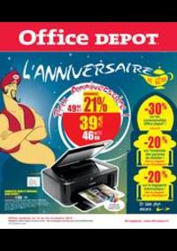 Prospectus Office DEPOT Paris 2 - Sebastopol : L'anniversaire de génie