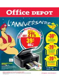 Prospectus Office DEPOT Aubervilliers : L'anniversaire de génie