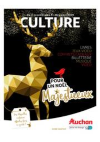 Prospectus Auchan CERGY : culturoscope