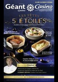 Prospectus Supermarchés Casino ASNIERES ZAC du métro - Ilot F : Les fêtes 5 étoiles