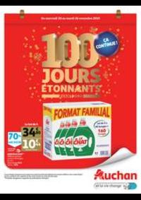 Prospectus Auchan Mulhouse : 100 jours étonnants avant 2020