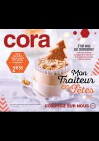 Prospectus Cora MONTBÉLIARD : Mon Traiteur en Fêtes 2019
