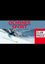 Prospectus Ochsner Sport : Club price