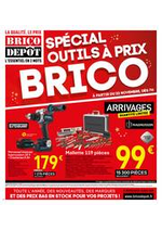 Prospectus Brico Dépôt : Spécial outils à prix BRICO !