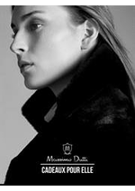 Catalogues et collections Massimo Dutti : Cadeaux pour elle