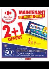 Prospectus Carrefour Market ECUELLES : Maintenant et moins cher !