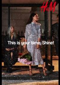 Prospectus H&M Tournai : This is your time Shine!