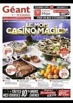 Prospectus  : Le mois Casino magic
