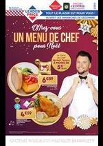 Prospectus Leader Price : Offrez-vous un menú de chef por Noël