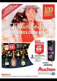 Prospectus Auchan ISSY LES MOULINEAUX : Trouvez toutes vos idées cadeaux