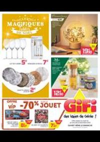 Prospectus Gifi CHAMBOURCY : Les Magifiques Tables de Noël
