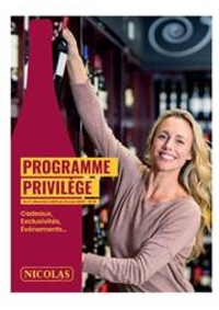 Prospectus NICOLAS LE PECQ : Programme Privilège