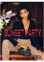 Catalogues et collections ZARA : Sunset Party