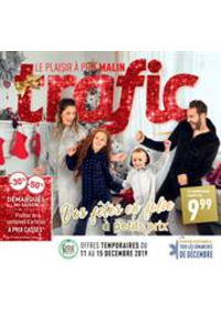 Prospectus Trafic Ciney : Folder Acties