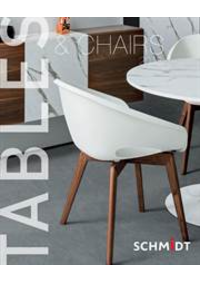 Prospectus Cuisines Schmidt GEMBLOUX : Tables and Chairs