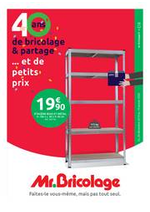 Prospectus  : Catalogue Mr Bricolage