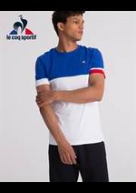 Prospectus Le Coq Sportif : T- Shirts Homme