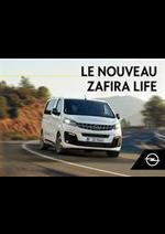 Prospectus  : Opel Zafira Life