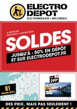 Prospectus ELECTRO DEPOT : SOLDES sur electrodepot.fr