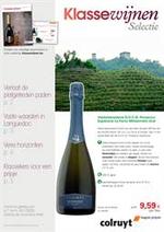 Prospectus Colruyt : Klasse Wijnrappel