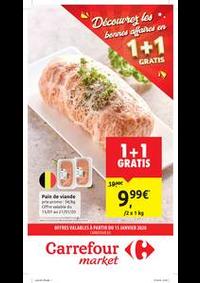 Promos et remises Carrefour Market EGHEZEE : folder Carrefour Market
