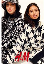 Catalogues et collections H&M : Black and white