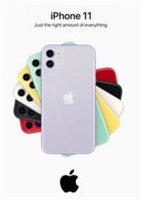 Prospectus Apple Store Paris Opéra : Iphone 11