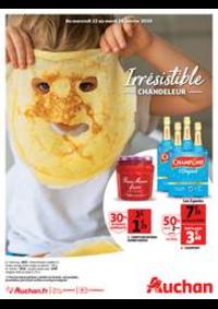 Promos et remises Auchan ISSY LES MOULINEAUX : Irrésistible Chandeleur