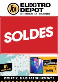 Promos et remises ELECTRO DEPOT BRIE COMTE ROBERT : SOLDES. En dépôt et sur electrodepot.fr
