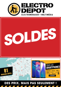 Promos et remises ELECTRO DEPOT Sarcelles : SOLDES. En dépôt et sur electrodepot.fr