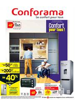 Prospectus Conforama : Confort pour tous