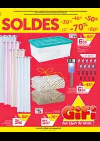 Prospectus Gifi GOUSSAINVILLE : Soldes Gifi