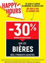 Promos et remises  : Happy Hours