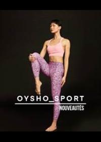 Catalogues et collections Oysho AULNAY SOUS BOIS : Nouveautés  Sport