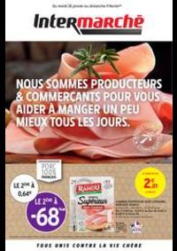 Prospectus Intermarché Super Argenteuil 7 rue du 8 Mai 1945 : PRODUCTEURS & COMMERÇANTS