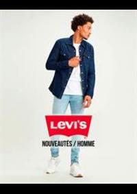 Prospectus Levi's Store Pairs Italie : Nouveautés / Homme