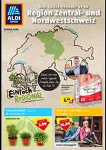 Prospectus Aldi : Aldi Aktionsbroschüre - Region Zentral- und Nordwestschweiz